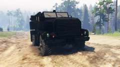 Cougar 4x4 for Spin Tires