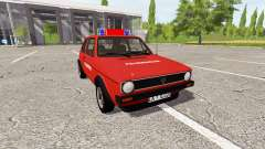 Volkswagen Golf GTI (Typ 17) 1976 for Farming Simulator 2017