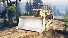 Caterpillar D9 v2.0 for Spin Tires