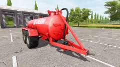 Creina 14000l for Farming Simulator 2017
