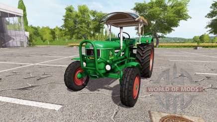 Deutz D80 v2.1 for Farming Simulator 2017