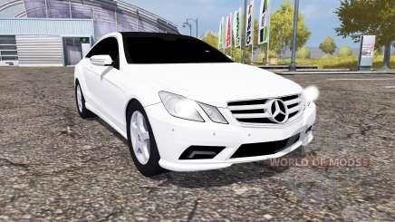 Mercedes-Benz E350 CDI (C207) for Farming Simulator 2013
