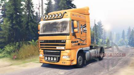 DAF XF 105 for Spin Tires