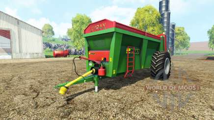 Gyrax EBMX 155 v1.1 for Farming Simulator 2015