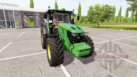 John Deere 6230R v3.0 for Farming Simulator 2017