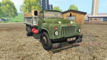 GAZ 53 green for Farming Simulator 2015