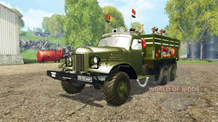ZIL 157 v4.0 for Farming Simulator 2015