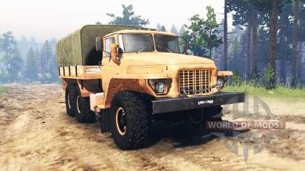 Ural 375 Forest tramp for Spin Tires