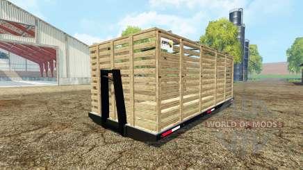 Animals platform for Farming Simulator 2015