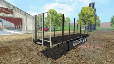 Fliegl universal semitrailer autoload v1.3 for Farming Simulator 2015