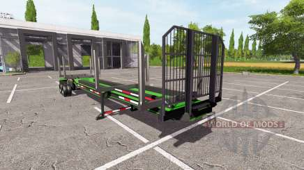 Logging Trailer for Farming Simulator 2017