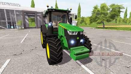 John Deere 7290R v1.2 for Farming Simulator 2017