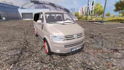 Volkswagen Caravelle (T5) TDI v2.0 for Farming Simulator 2013