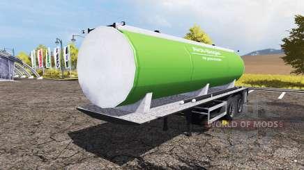 Slurry manure tanker for Farming Simulator 2013