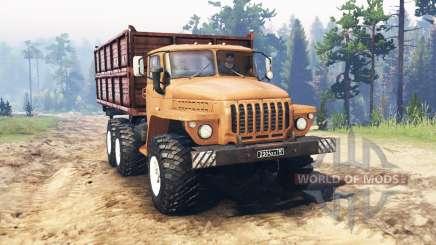 Ural 5557 for Spin Tires