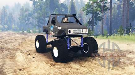 Suzuki Samurai Crawler for Spin Tires