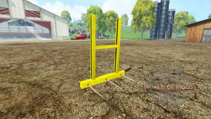 Bale fork for Farming Simulator 2015
