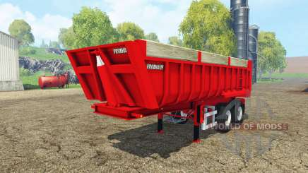 Fruehauf tipper semitrailer for Farming Simulator 2015