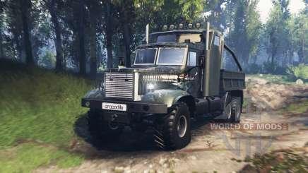 KrAZ 255 B1 Crocodile v3.0 for Spin Tires