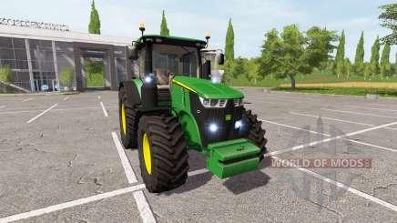 John Deere 7290R v2.0 for Farming Simulator 2017