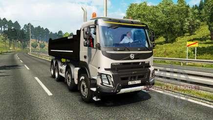 Volvo FMX Meiller Kipper for Euro Truck Simulator 2