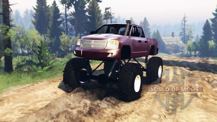 Dodge Dakota TTC v2.0 for Spin Tires