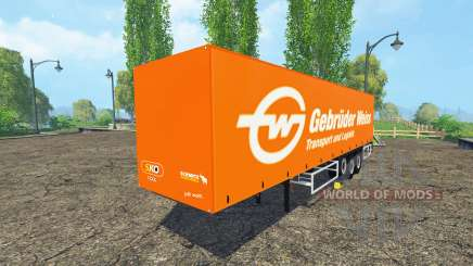 Schmitz Cargobull Gebruder Weiss for Farming Simulator 2015
