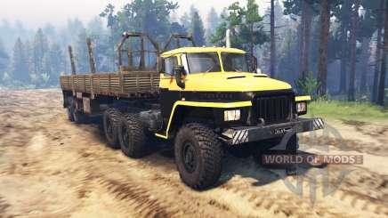 Ural 375 Major v1.1 for Spin Tires