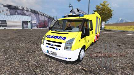 Ford Transit feuerwehr for Farming Simulator 2013