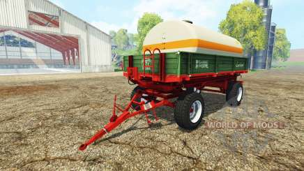 Krone Emsland water tank for Farming Simulator 2015