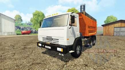 KamAZ 55111 for Farming Simulator 2015