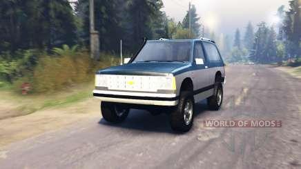 Chevrolet S-10 Blazer 1980 for Spin Tires