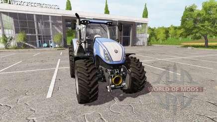 New Holland T7.315 v2.1 for Farming Simulator 2017