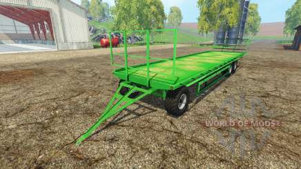 Universal bale trailer for Farming Simulator 2015