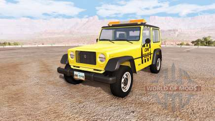Ibishu Hopper emergency for BeamNG Drive