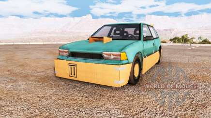 Ibishu Covet cardboard v1.02 for BeamNG Drive
