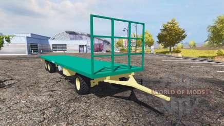 Camara bale trailer v1.1 for Farming Simulator 2013