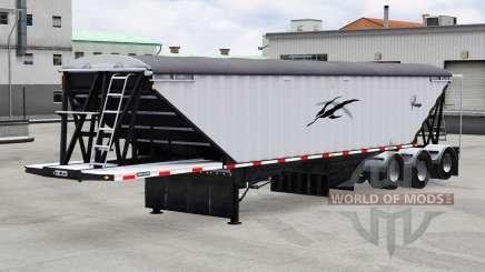 Lode King Prestige tri-axle for American Truck Simulator