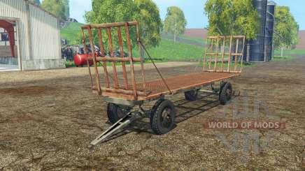 Bale trailer for Farming Simulator 2015