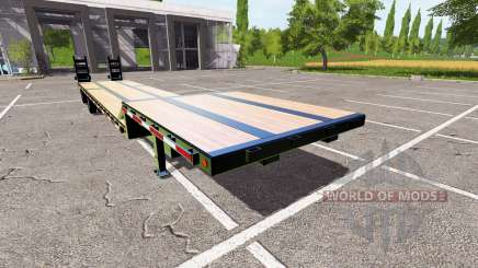 Drop Deck Trailer for Farming Simulator 2017