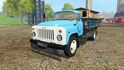 GAZ 53 blue for Farming Simulator 2015