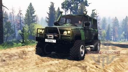 UAZ 3172 Spy v2.0 for Spin Tires