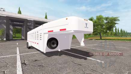 Animal trailer for Farming Simulator 2017