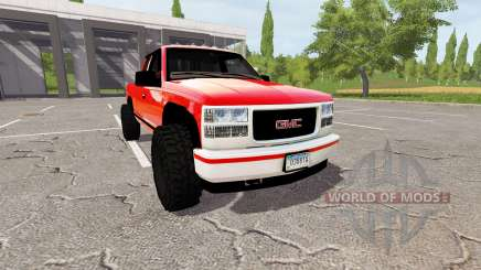 GMC Sierra K3500 for Farming Simulator 2017