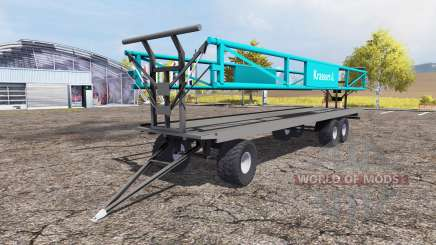 Krassort bale trailer for Farming Simulator 2013