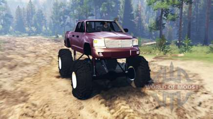Dodge Dakota TTC for Spin Tires