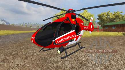 Eurocopter EC135 T2 DRF for Farming Simulator 2013