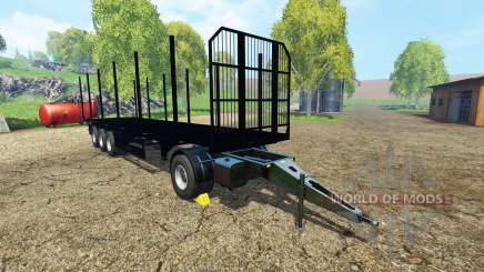 Fliegl universal semitrailer v1.5.4 for Farming Simulator 2015