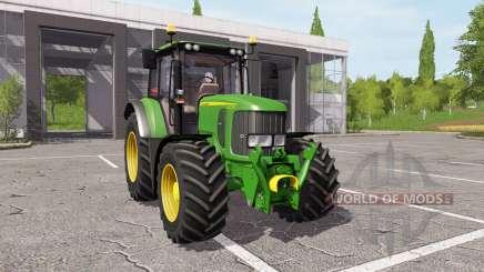 John Deere 6330 v1.1 for Farming Simulator 2017
