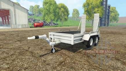 Car trailer YSM for Farming Simulator 2015